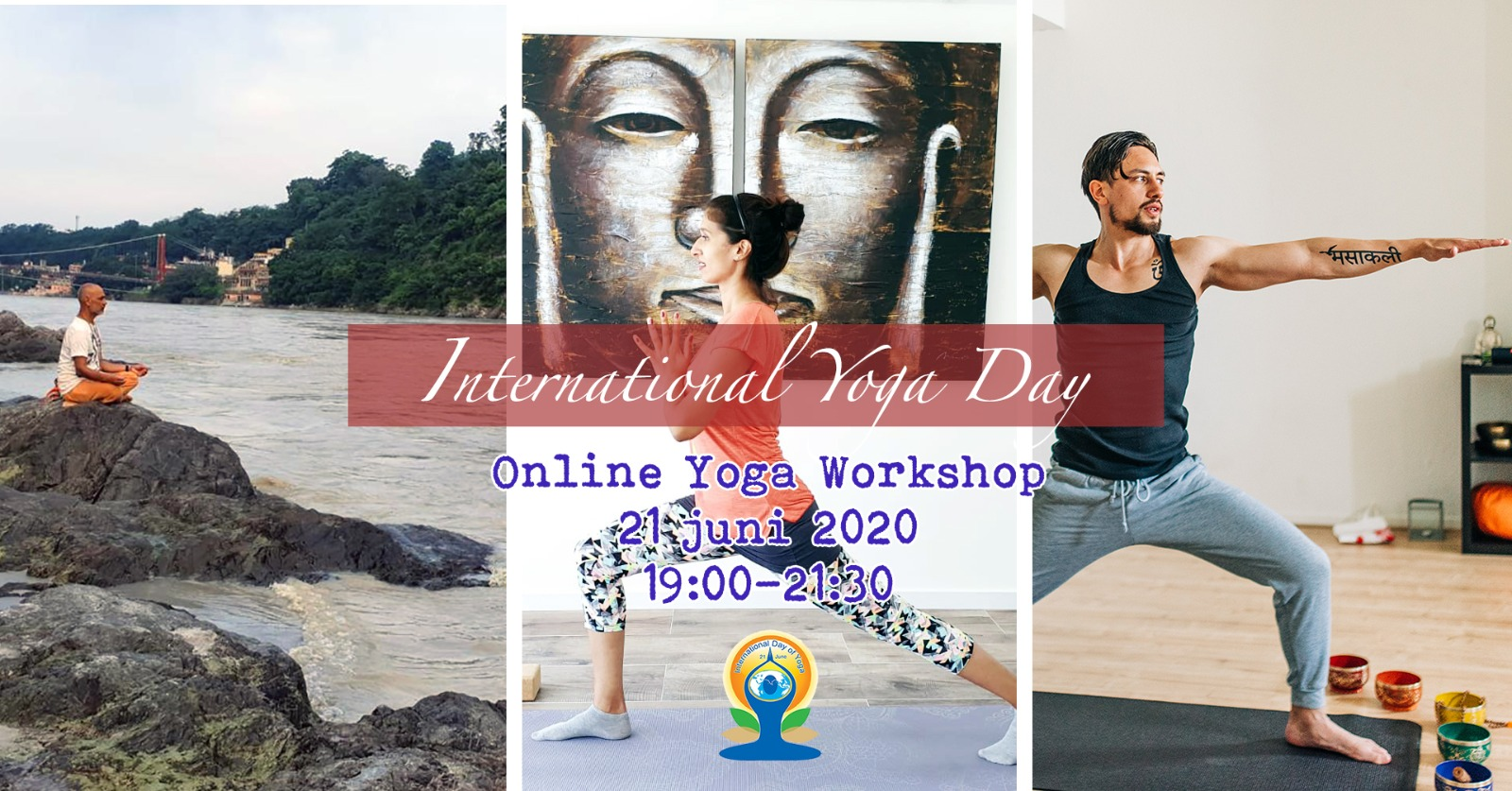 Online Yoga Workshop 21 juni 2020